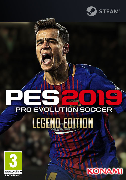 PRO EVOLUTION SOCCER 2019 Legend Edition (PC)