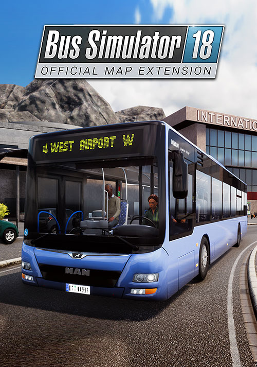 Bus Simulator 18 - Official map extension (PC)