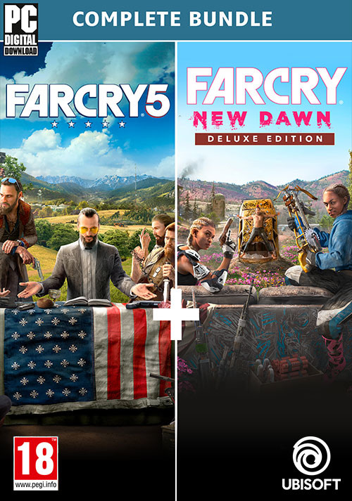 Far Cry 5 + Far Cry New Dawn Deluxe Edition Bundle (PC)