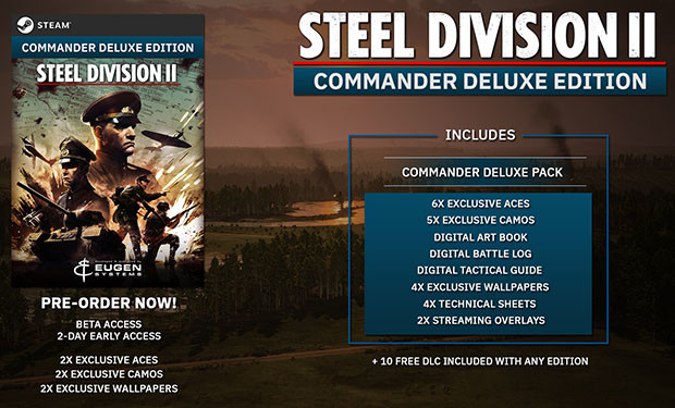 Steel Division 2 - Commander Deluxe Edition