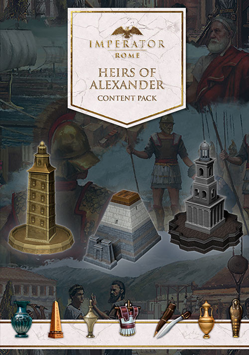 Imperator: Rome - Heirs of Alexander Content Pack (PC)