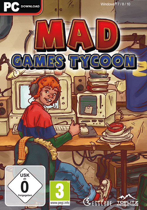 Mad Games Tycoon (PC)