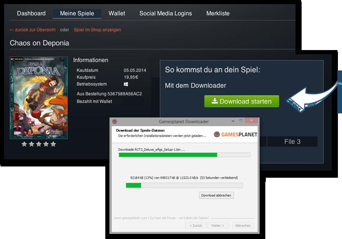 Gamesplanet-Downloader