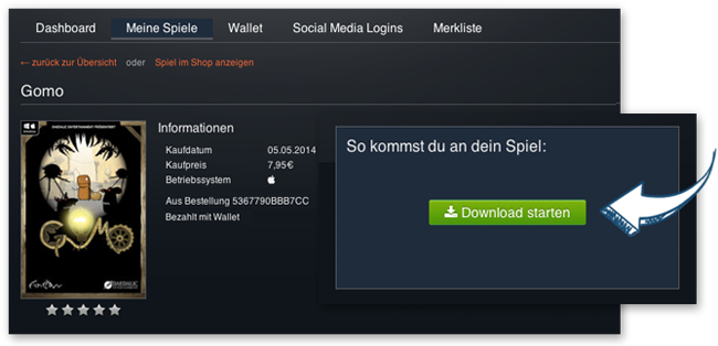 Download von Mac-Spielen